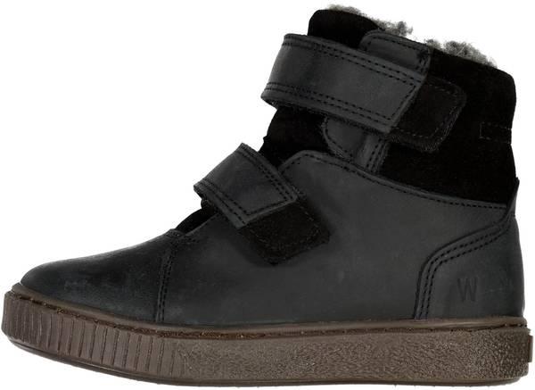 Bilde av Wheat Hunter Velcro Tex boot - black