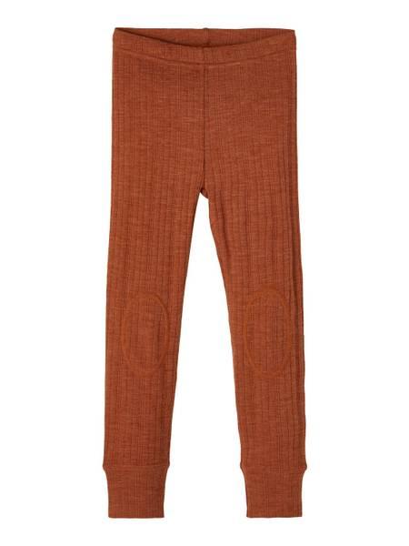 Bilde av Name It Wang Wool needle leggings mini - mocha