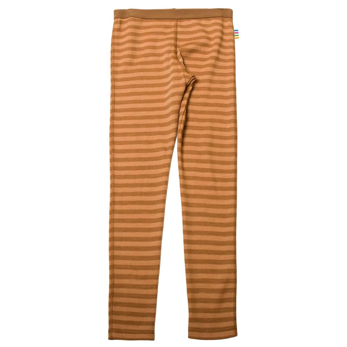 Joha Stripe ull leggings - kobber