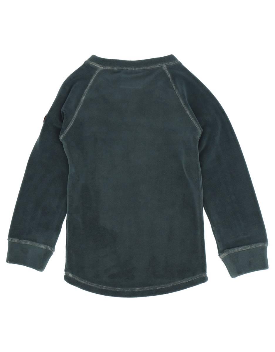 Gullkorn Design Jona Fleece-sett - gråblå