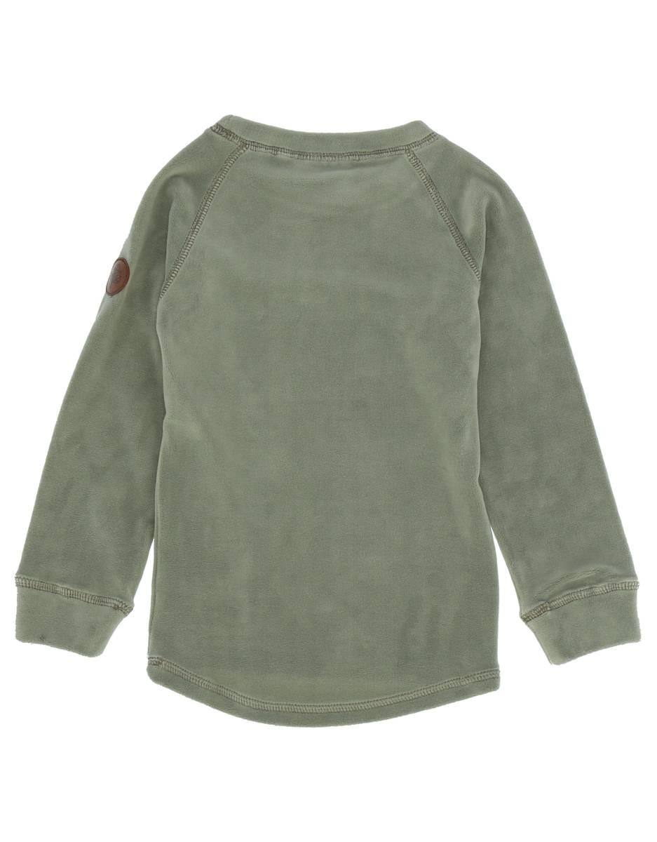 Gullkorn Design Jona Fleece-sett - lys grønn